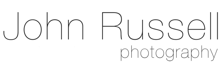 John Russell Photography text logo