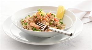 Plate of Prawn curry to illustrate John Russell Food Photography