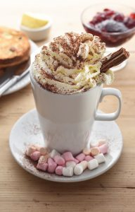 Hot Chocolate Devon style