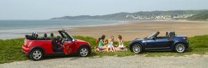 Car Photography at the Beach