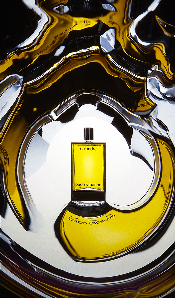 Fragrance photography for Paco Rabanne